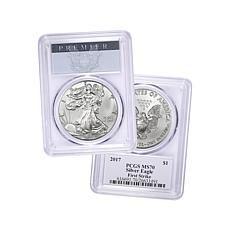 2017 MS70 PCGS Silver Eagle Dollar Coin