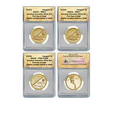 2018 MS67/PR69 FDOI LE 3,946 American Innovation Coins - Auto-Ship®