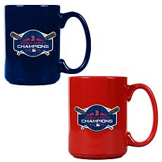 2018 World Series Champions Set of 2 15 oz. Colored Mugs - Red Sox