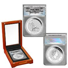 2019 MS70 ANACS Australian Wedge-Tailed Silver Eagle Dollar Coin