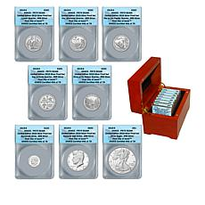 2019 PR70 DCAM First Day Issue Limited Edition Silver Proof Set