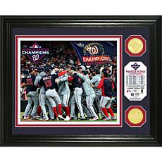 2019 World Series Champions Celebration Bronze Coin Photo Mint