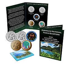 2020 National Park of America Samoa 5-Quarter Set