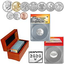 2020 PR70 FDOI 200 Jefferson Nickel & PR70 FDOI 200 US Mint Proof Set