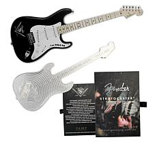 2021 Fender Stratocaster Guitar-Shaped Solomon Islands $2 Silver Coin
