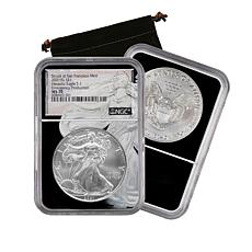 2021 MS70 NGC San Francisco Mint Silver Eagle Dollar - Auto-Ship®