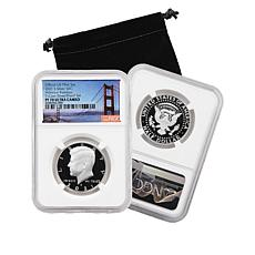 2021-S PF70 NGC Advance Releases Silver Proof Set Kennedy Half Dollar