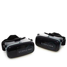 2pk ReTrak Utopia 360-Degree VR Headsets with App Packs