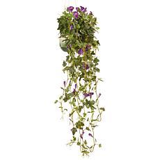 "38"" Garden Accents Artificial Petunia Plant"