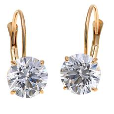 3ctw Absolute™ 14K Round Leverback Earrings