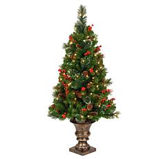 4'  Crestwood Spruce Entrance Tree w/Lights