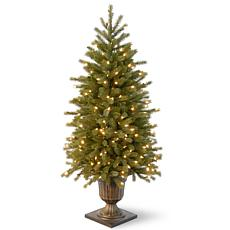 4 ft. FEEL-REAL® Jersey Fraser Fir Entrance Tree with Clear Lights