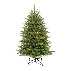 4.5' Franklin Fir Artificial Christmas Tree w/250 Multi-Colored Lights