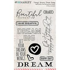 """49 And Market Clear Stamps 4"""" x 6"""" - Artistry Dream"""