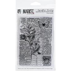 """49 And Market Clear Stamps 4"""" x 6"""" - Springtime Harmony"""