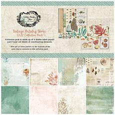 """49 And Market Collection Pack 12"""" x 12"""" - Vintage Artistry Shore"""