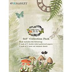 """49 And Market Collection Pack 6"""" x 8"""" - Vintage Artistry Hike More"""