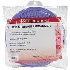 5-Tier Storage Organizer - Lilac