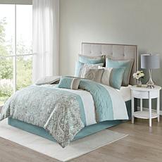 510 Design Shawnee 8-Piece Comforter Set Blue Cal King