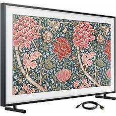 55 Inch Class The Frame QLED Smart 4K UHD TV and 6 Foot HDMI Cable