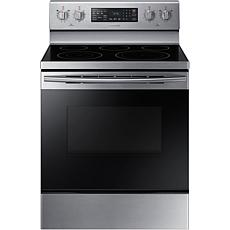 5.9 Cu. Ft. Convection Freestanding Electric Range - Stainless Steel