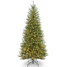 6.5' Dunhill® Fir Slim Tree with Clear Lights