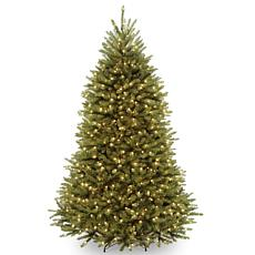 7-1/2' Dunhill Fir Hinged Tree w/Lights