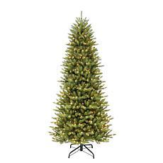 7-1/2' Slim Franklin Fir Artificial Christmas Tree - 500 Clear Lights