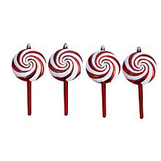 """7"""" Holiday Deluxe Shatterproof Ornament - Set of 4"""