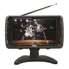 "7"" Portable TV and Digital Multimedia Player with Car Package"