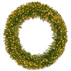 "72"" Norwood Fir Wreath w/Lights"