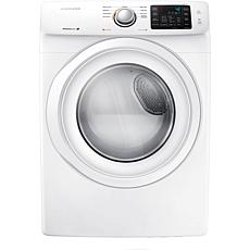 7.5 Cu. Ft. Front Load Gas Dryer - White