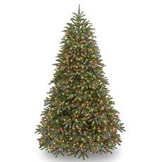 7.5 ft. FEEL-REAL® Jersey Fraser Fir Medium Tree with Multicolor Li...