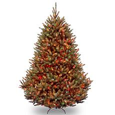 7.5 ft. Natural Fraser Medium Fir Tree with Multicolor Lights