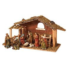 9-piece Christmas Nativity Scene