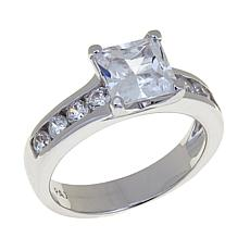 Absolute™ 2.48ctw CZ Princess Solitaire Ring