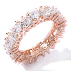 "Absolute™ Cubic Zirconia ""Eternal Love"" Eternity Ring"