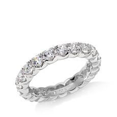 Absolute™ Cubic Zirconia Round Eternity Band Ring