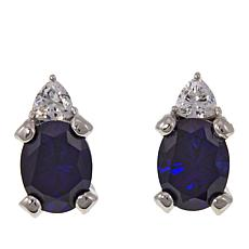 Absolute™ CZ Oval and Multi-Shape Stud Earrings