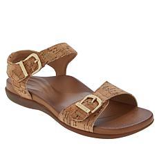 Aetrex® Carrie Orthotic Adjustable Buckle Sandal