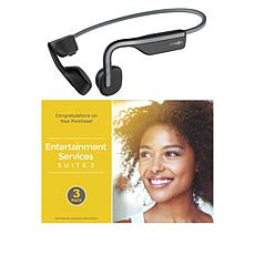 Aftershokz OpenMove Open-Ear Bone Conduction Headphones with Voucher