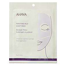 AHAVA Purifying Mud Single Sheet Mask