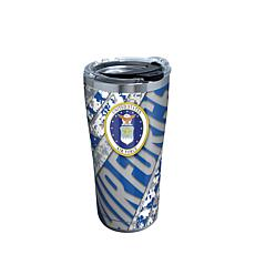 Air Force 20 oz Stainless Steel Tumbler with lid