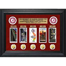Alabama Crimson Tide National Champs Series Deluxe Ticket Collection