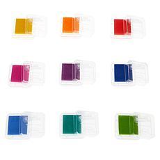 Aladine 9-piece Embossing Pigment Inks Inkpad Set