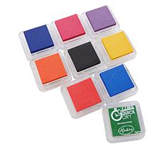 Aladine Quick-Drying Pigment Hybrid Ink Pad Set of 9
