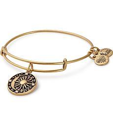 "Alex and Ani ""Cosmic Balance"" Expandable Bangle Charm Bracelet"