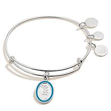 Alex and Ani Lilly of the Valley Flower May Charm Bangle