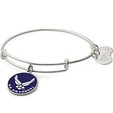 """Alex and Ani """"U.S. Air Force"""" Expandable Bangle Charm Bracelet"""