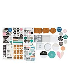 Ali Edwards Week in The Life Paper Craft Embellishments